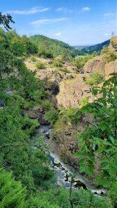 l'orrido del torrente Vezzeno a Gropparello
