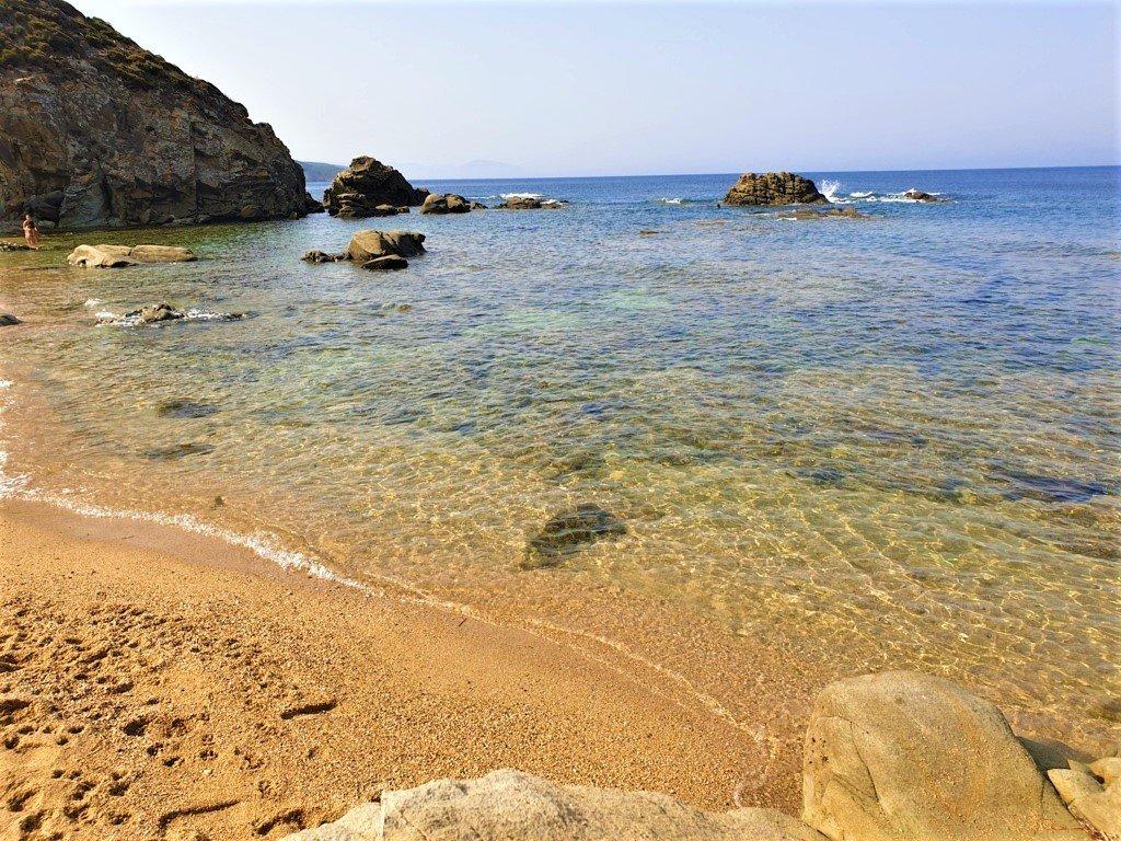 La spiaggia della Costa Verde Is Cannisonis