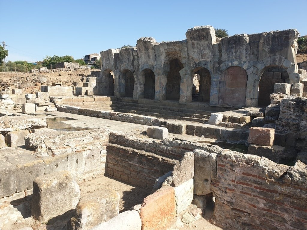 Le Terme Romane di Fordongianus in Sardegna