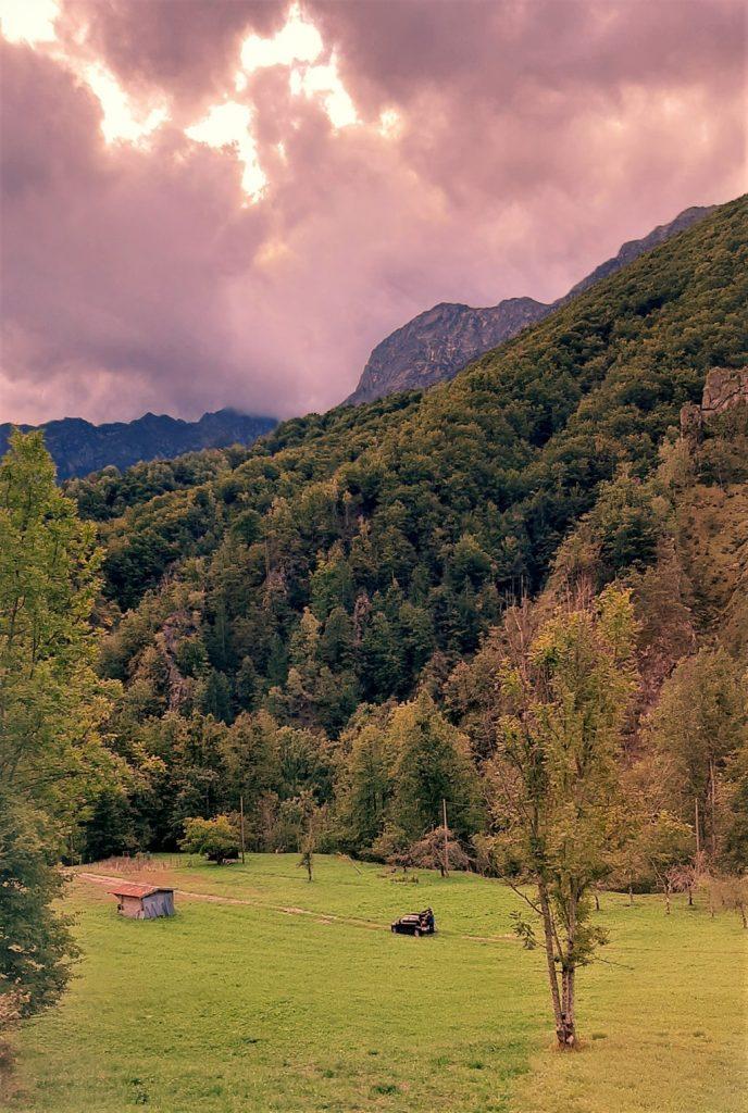 Il panorama delle valli ossolane dal Treno del Foliage