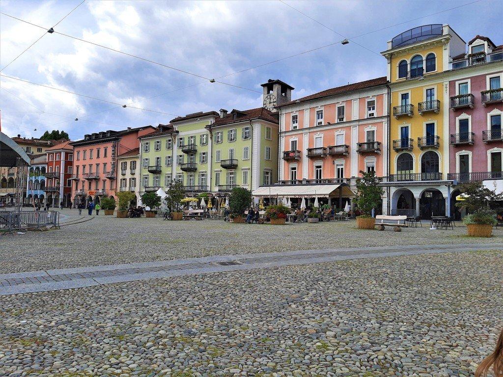 Piazza Grande a Locarno