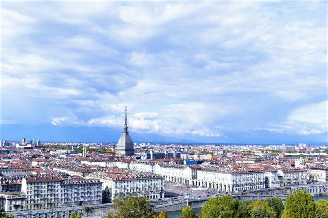 Panorama di Torino dall'alto del Monte dei Cappuccini