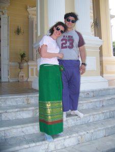coppia in viaggio in Thailandia
