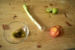ingredienti insalata di pomodoro