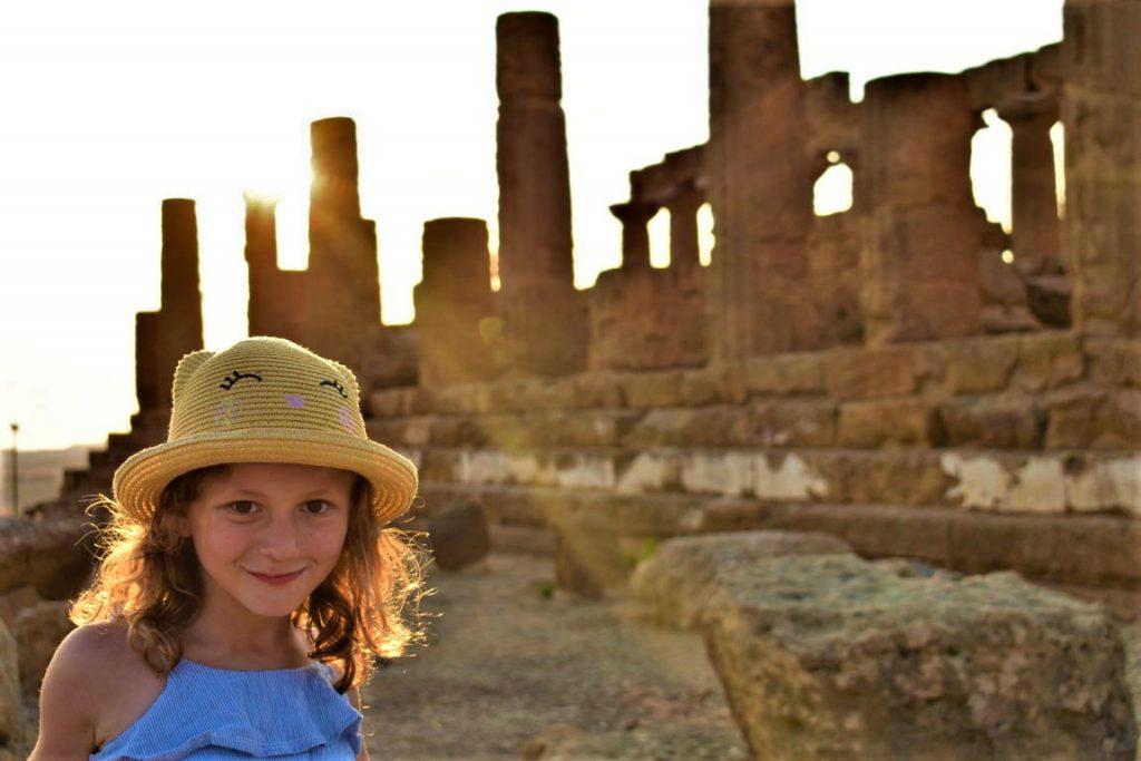 Visita alla Valle dei Templi Agrigento con bambini