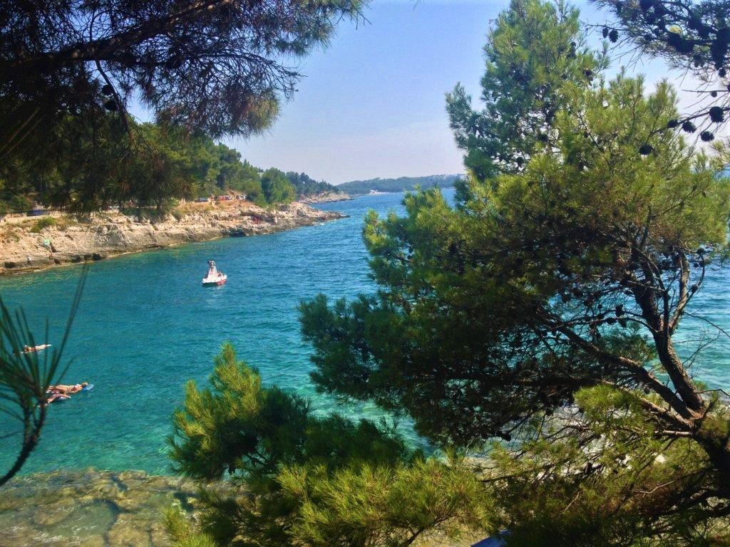 La Spiaggia di Gortan Cove in Istria