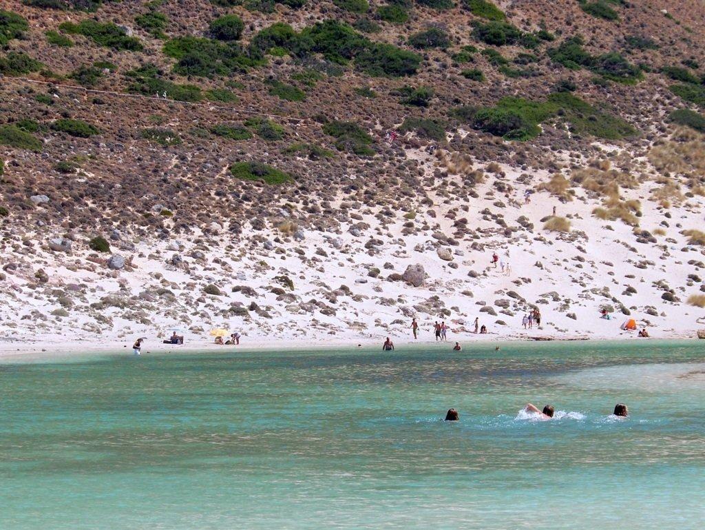 Balos Beach trail