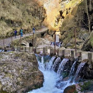Il sentiero delle cascate Val Vertova a Bergamo