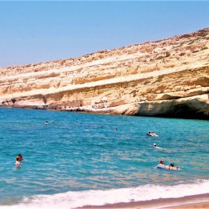 Caves Matala Beach