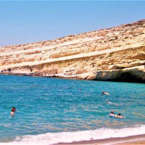 Caves Matala Beach