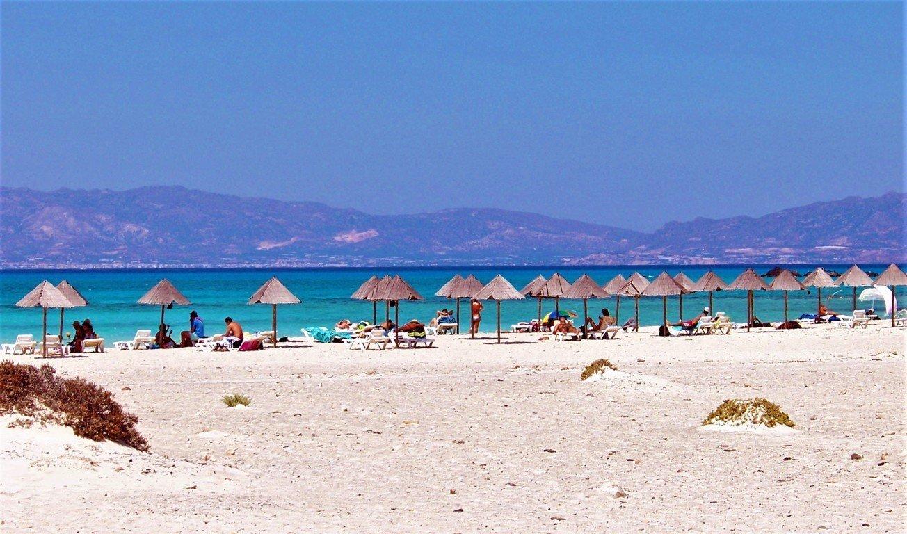 La Golden Beach di Crisis Island Crete