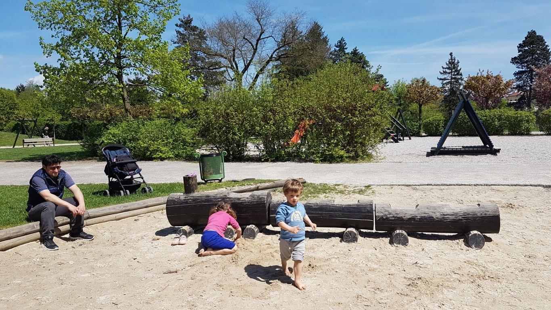 Lubiana con bambini al Parco Tivoli in Slovenia