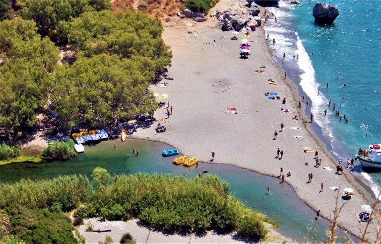 Preveli Beach: il mare di Creta che sa sorprendere!