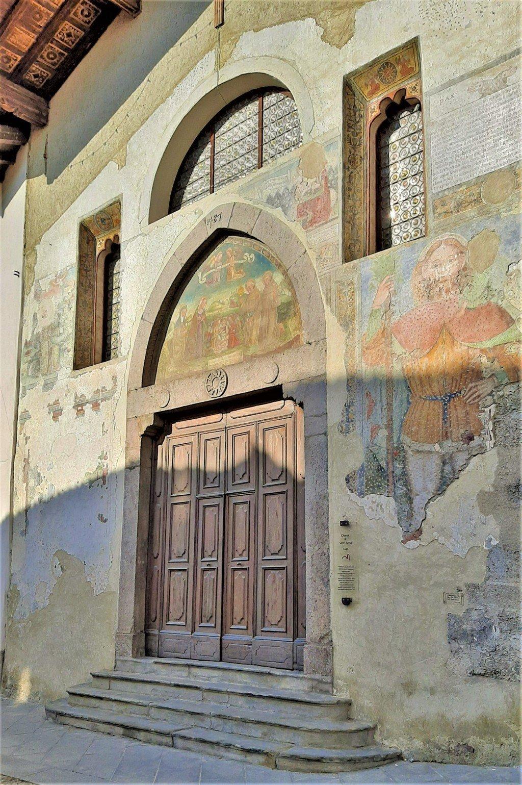 Gli affreschi della città di Clusone