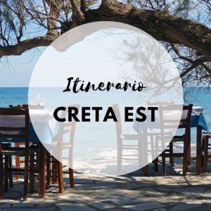 Creta Est itinerario