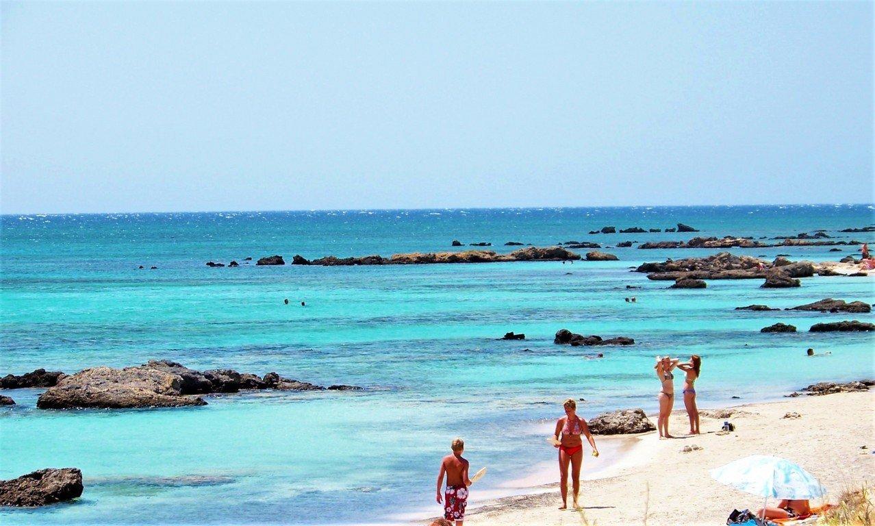 il mare di Creta ad Elafonissi Beach