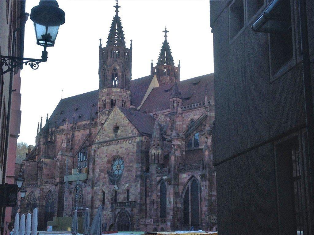 La Cattedrale di Friburgo in Brisgovia