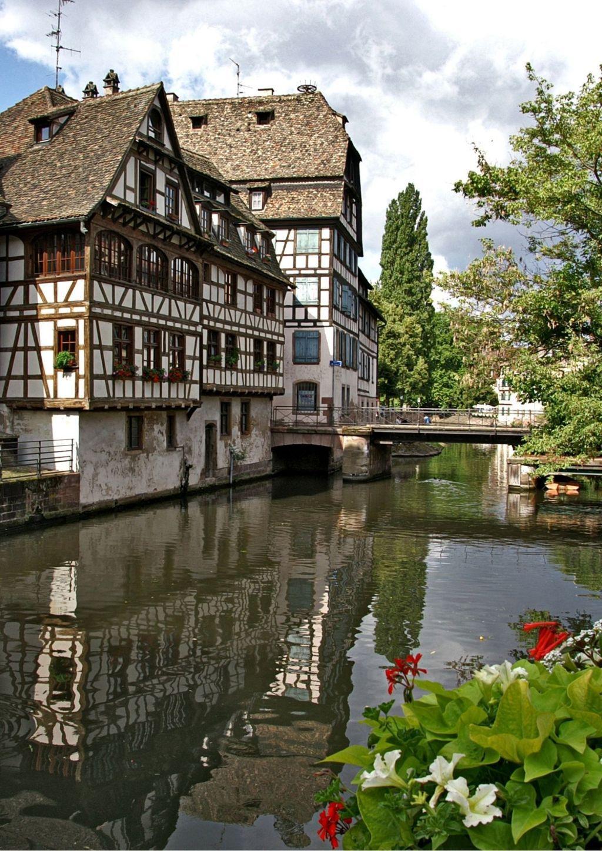 Il quartiere Petite France a Strasburgo