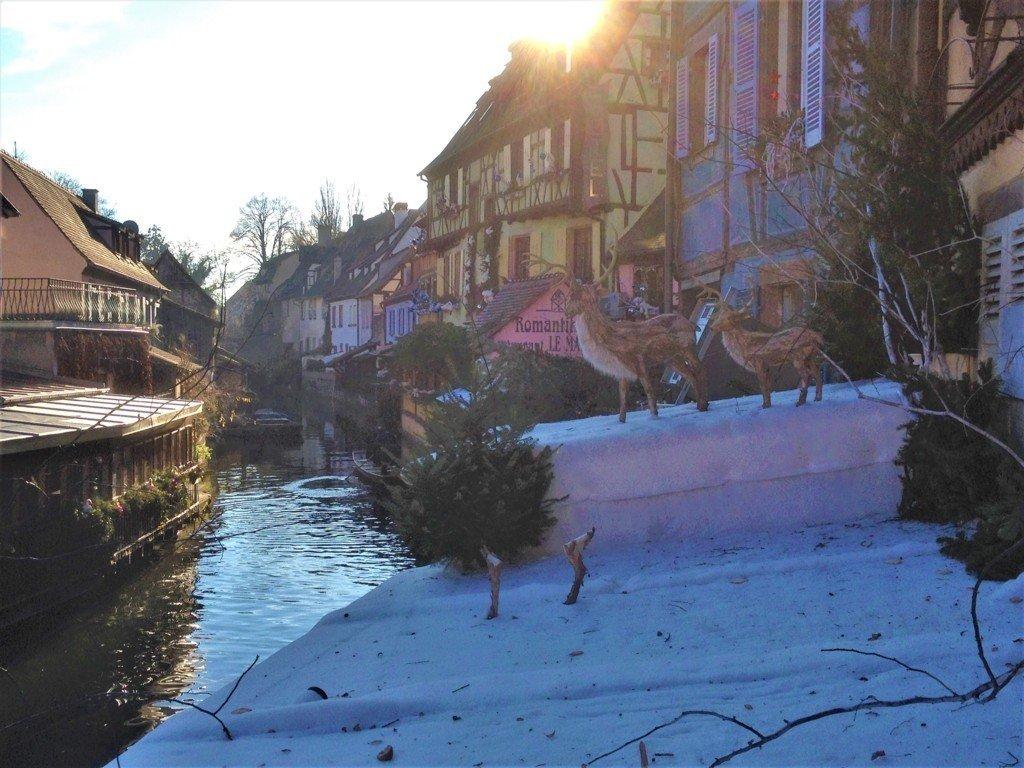 Uno scorcio della Petite Venice a Colmar