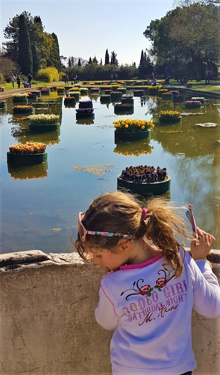 I giardini acquatici del Parco Giardino Sigurtà