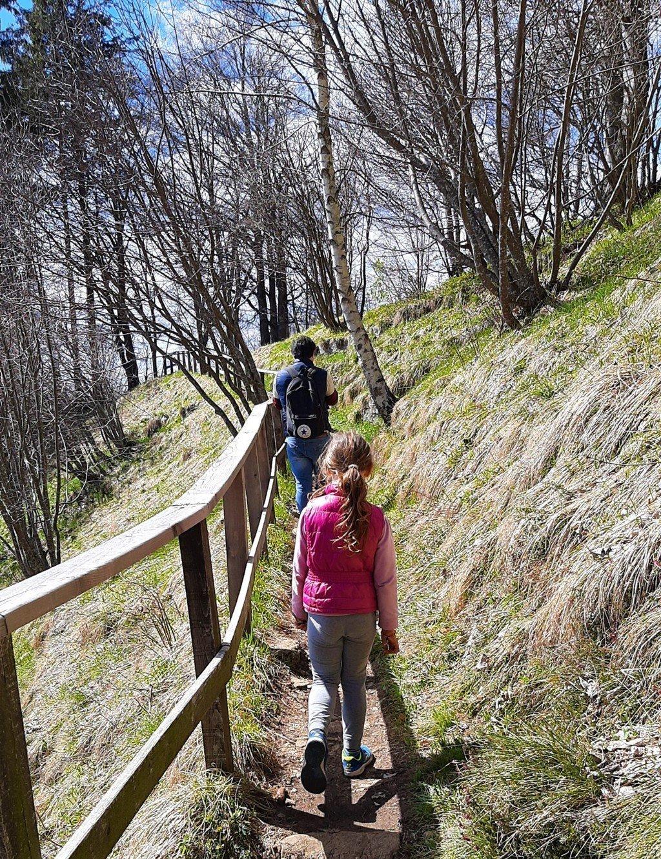 I sentieri per raggiungere il Monte Coltignone in Valsassina