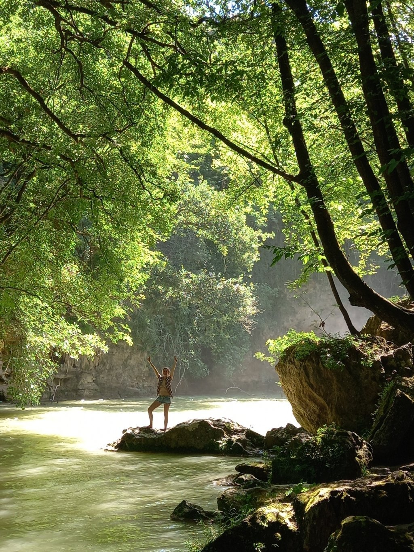 Il parco fluviale Colle di Val d'Elsa