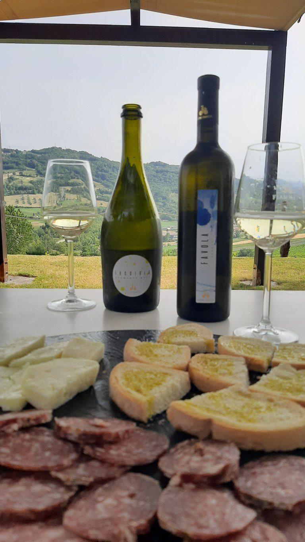 Una degustazione con vini e prodotti tipici riminesi