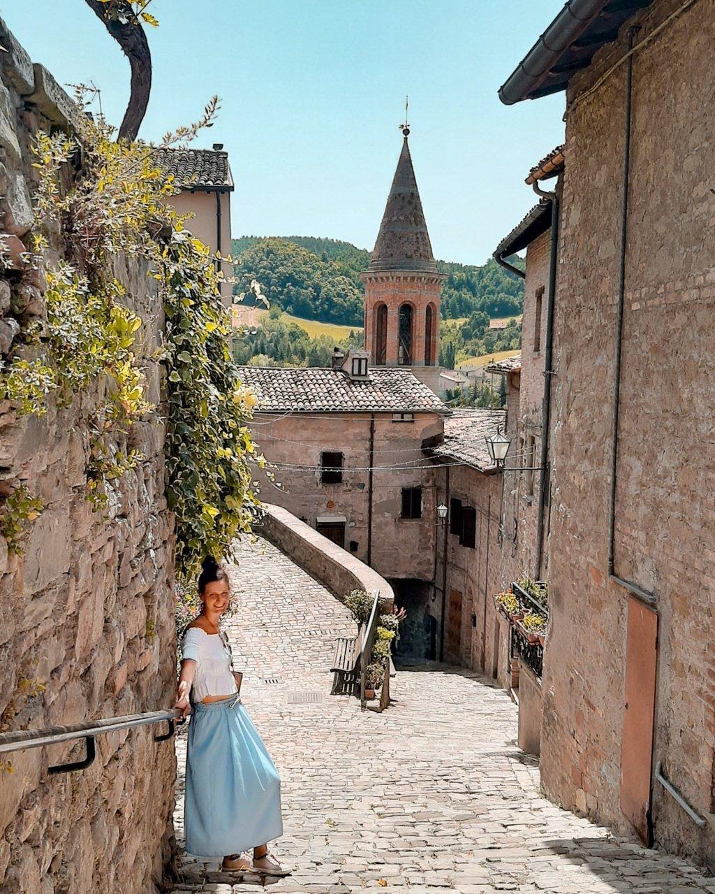 il borgo di Sant'Agata Feltria