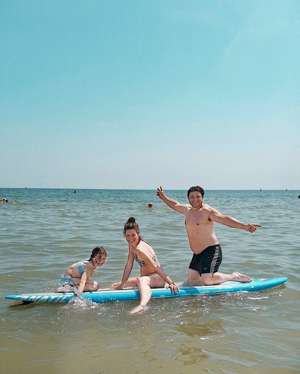 Sup Rimini attività perfetta per famiglie con bambini