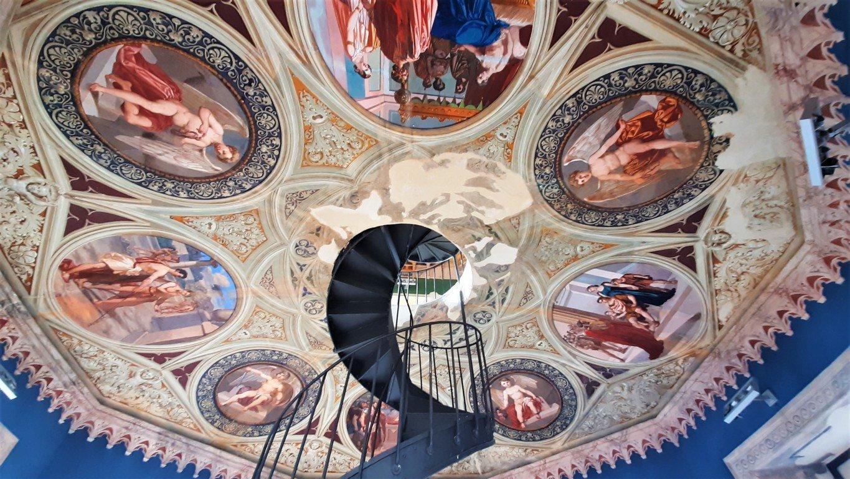 Gli affreschi della torre Mastio del Castello Ducale di Corigliano Calabro