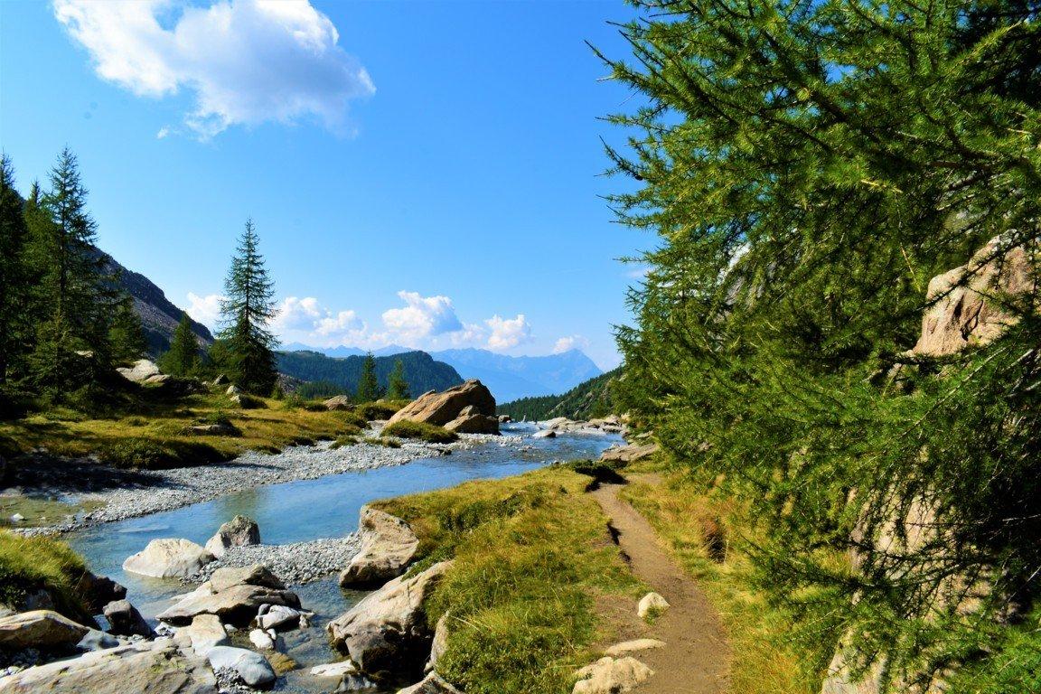 La natura incontaminata della riserva di Preda Rossa in Valtellina