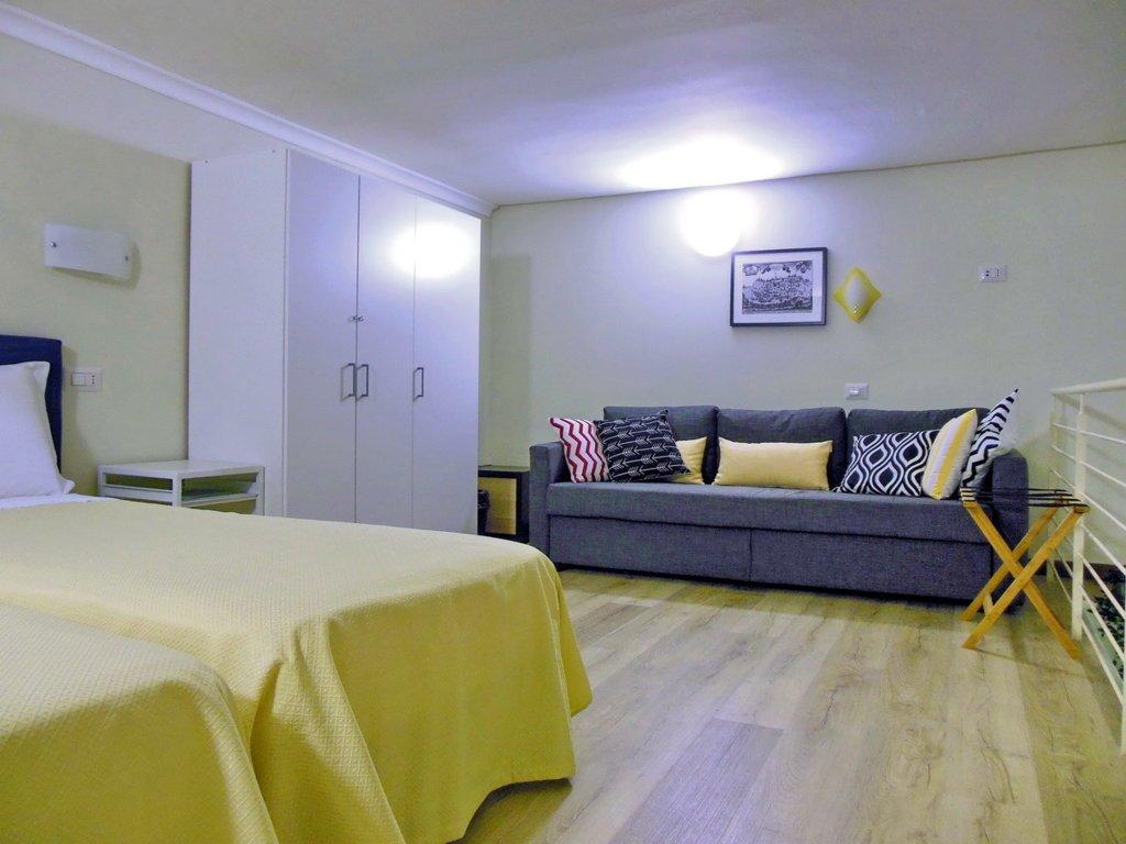 Una camera de L'Ospite Lifestyle Residence a Matera
