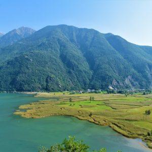 Pian di Spagna e Lago di Mezzola in Lombardia