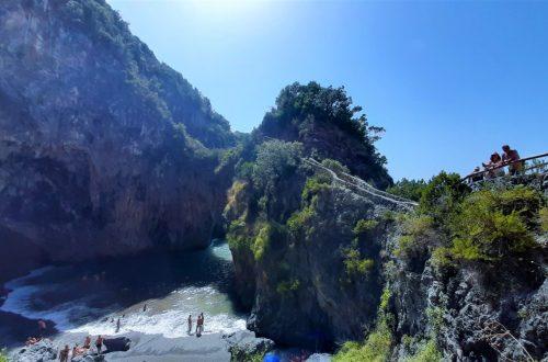La Spiaggia dell'Arcomagno in Calabria